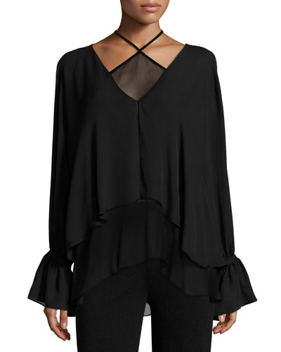 Eloise Layered Silk Top