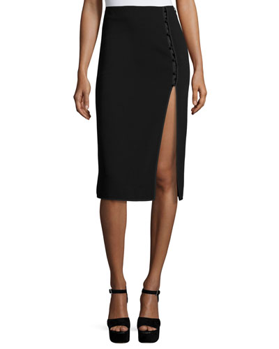 Farrow Slit Pencil Skirt