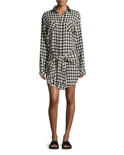 The Twist Shirtdress, Sherlock Plaid