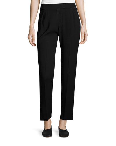 Slim Lounge Pants, Black