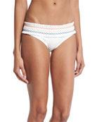 Costa Hipster Swim Bikini Bottom, New Ivory
