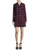 The School Dress, Ranch Plaid