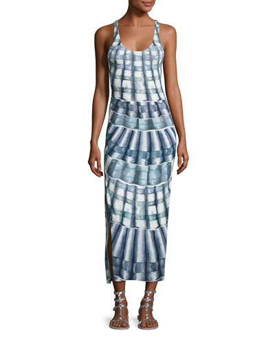 Shells Racerback Midi Coverup Dress