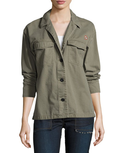 Irving Shirt Jacket, Army Green
