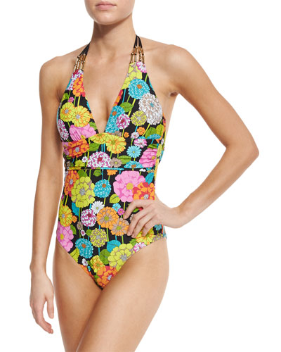 Santiago Halter One-Piece Swimsuit