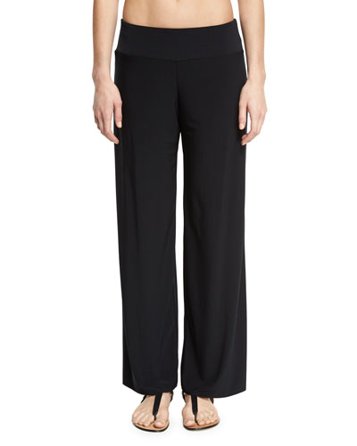 Cabana Wide-Leg Coverup Pants