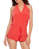 Bianca One-Piece Swim Romper