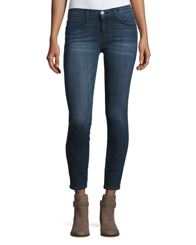 The Stiletto Skinny Ankle Jeans, Nightfade
