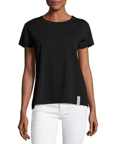 Classic Jersey Logo T-Shirt, Black