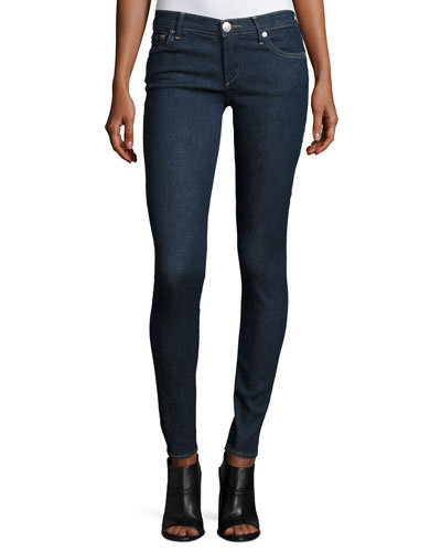 Casey Low-Rise Super-Skinny Jeans, Enzyme Rinse