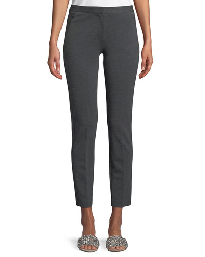 Alexandra Double-Knit Pants