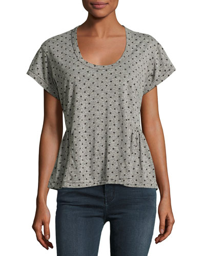The Girlie Tee, Heather Gray