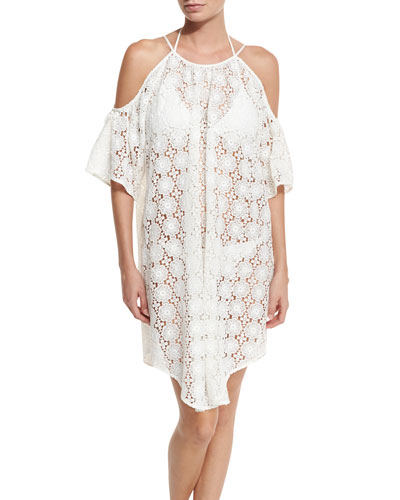 Santa Fe Crochet Coverup Dress