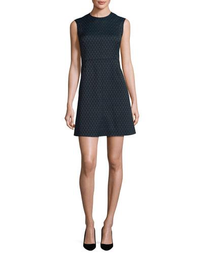 Madyson Printed Sleeveless A-Line Dress