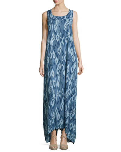 Tulum Coverup Maxi Dress, Atlantis