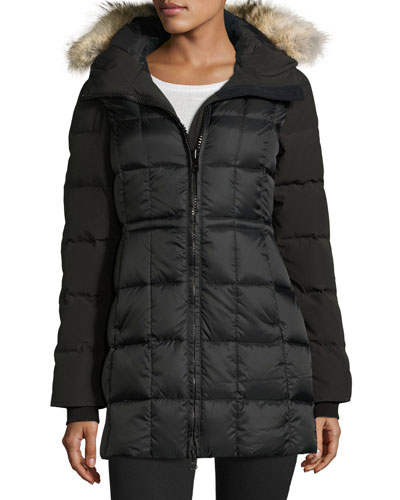 Beechwood Fur-Hood Parka Jacket