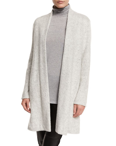 Brushed Terryl Kimono Knee-Length Coat