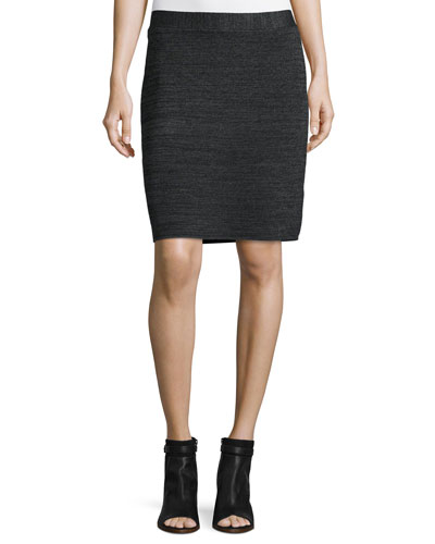 Tencel® Merino Pencil Skirt, Plus Size