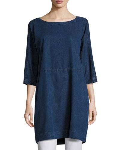 Tencel® Denim Tunic/Dress