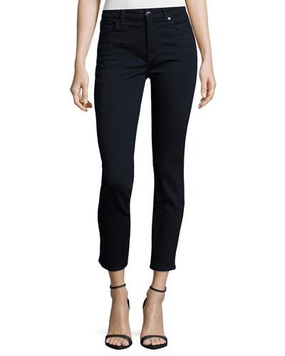 Riche Touch True Rinse Skinny Ankle Jeans, Blue