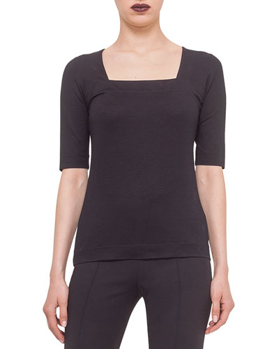 Elements Square-Neck Top