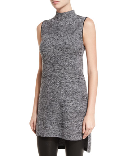 Cammy Sleeveless High-Low Tunic Sweater