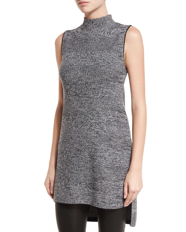 Cammy Sleeveless High-Low Tunic Sweater
