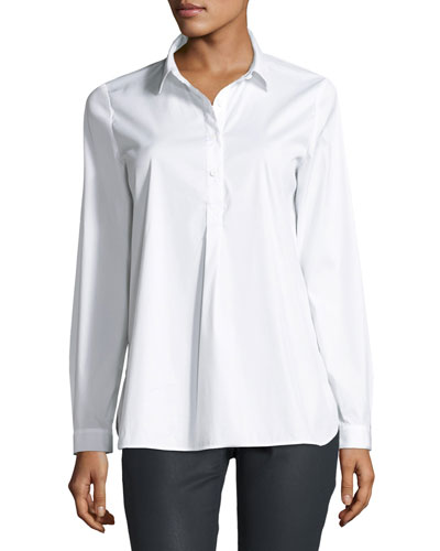 Mariette Excursion Stretch Blouse, White