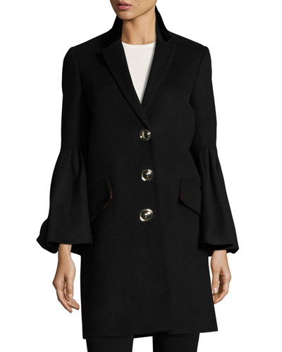 Cashmere Blend Wool Coat | Neiman Marcus