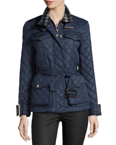 Haddingfield Quilted Jacket, Blue