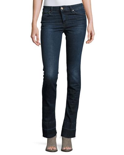 The Micro Flare Released-Hem Jeans, Joslyn