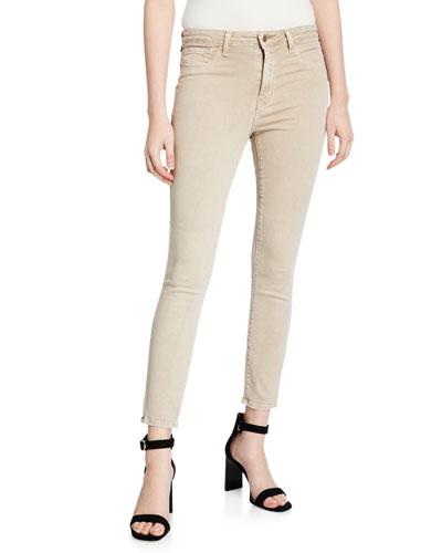 Margot High-Rise Skinny-Leg Ankle Jeans