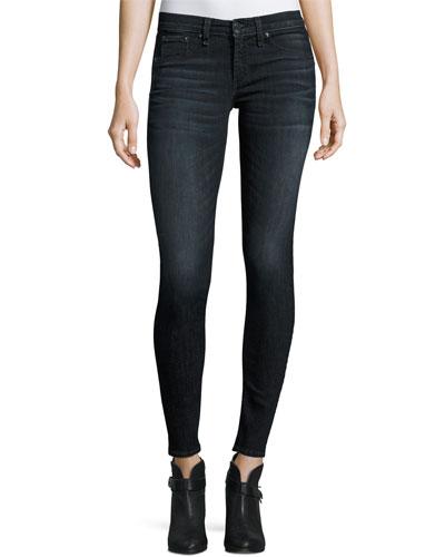 Classic Skinny Jeans, Black Rae