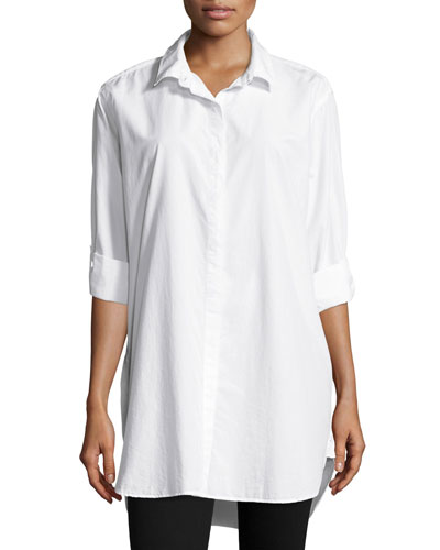 The Oversized Shirt, White