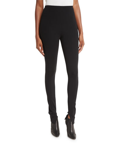 Ralph Lauren Collection Leland High-Rise Leggings, Black