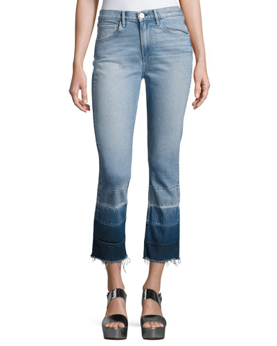 W4 Shelter Super High-Rise Straight-Leg Jeans, Spectrum