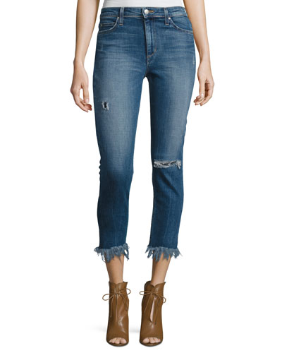 The Charlie High-Rise Cropped Skinny Jeans, Neelam