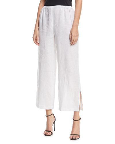 Petite Wide Leg Pants | Neiman Marcus