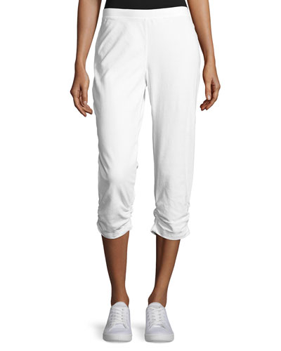 Rayna Capri Pants with Ruching