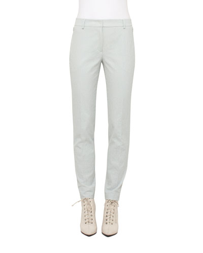Melvin Seersucker Skinny Pants, Light Blue