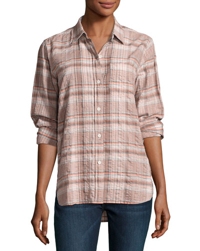 The Modern Prep School Shirt, Eugene Plaid