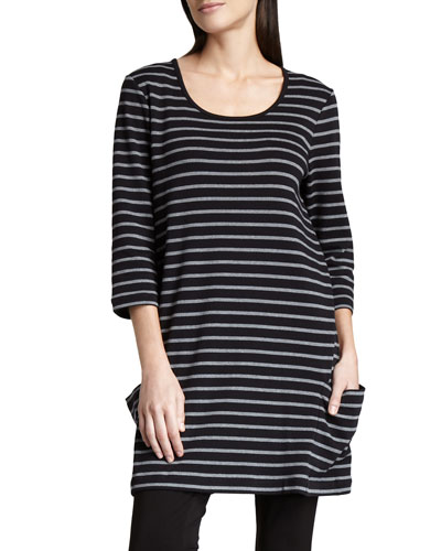 Striped Cotton Tunic