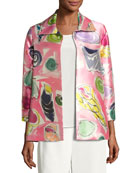 Beachy Keen Printed Lady Jacket, Petite