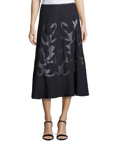 Secret Garden Skirt, Midnight