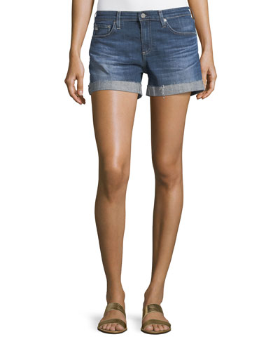 The Hailey Raw-Hem Shorts, 10 Years Day Off