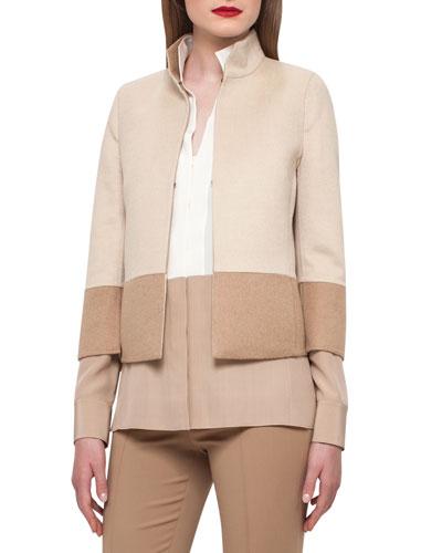 Reversible Colorblock Jacket