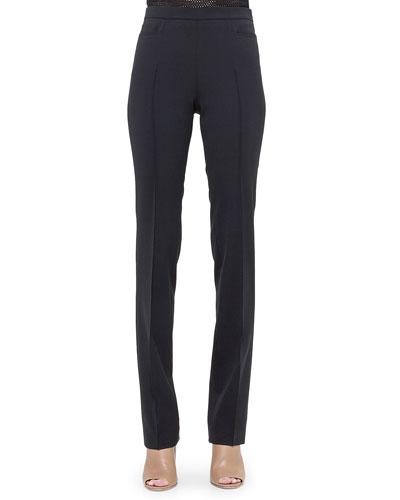 Francoise Straight-Leg Pants