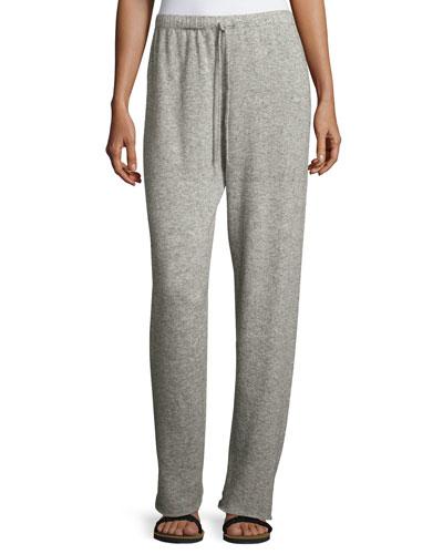 Superfine Cashmere/Silk Drawstring Sweatpants