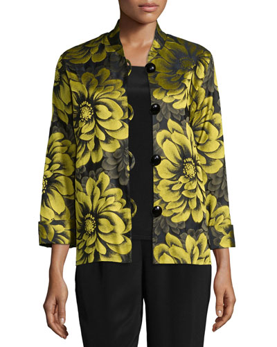 Flower Show Boxy Jacket