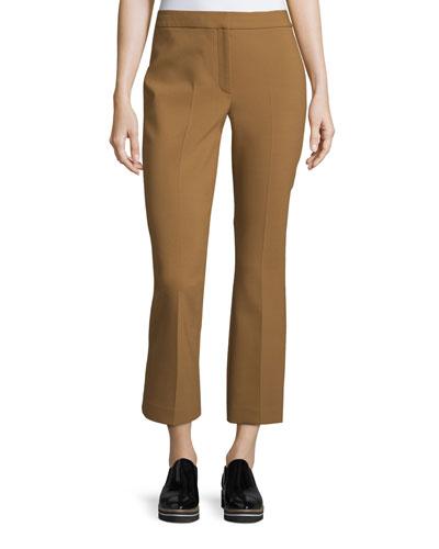 Erstina Pioneer Cropped Pants, Vicuna